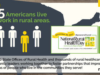 National Rural Health Day - November 16th