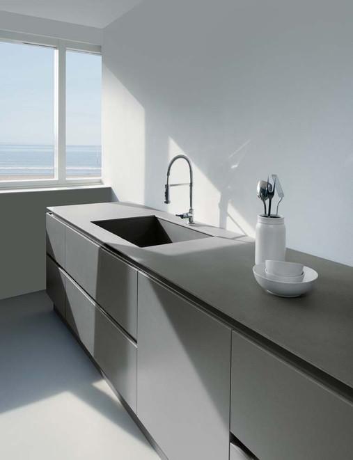 Lavello e mobili da cucina rivestiti