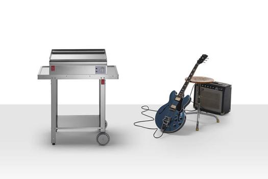 Barbecue elettrico in acciaio