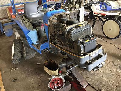 イセキ トラクター 修理