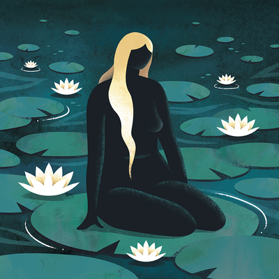 Lotus Lady   Emily Dayson