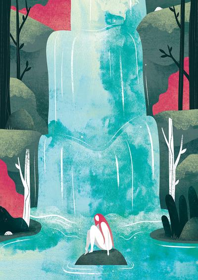Waterfall   Emily Dayson