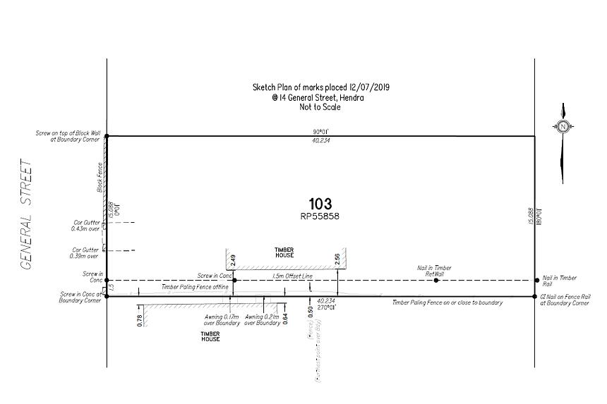 2895 sketch plan of marks - 14 General s