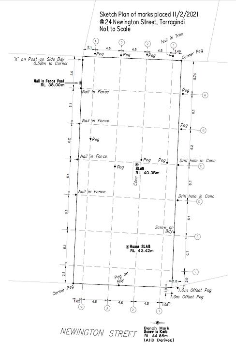 2264 set out sketch 24 Newington St Tarr