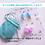 Thumbnail: パープル 耳栓 可愛い耳栓 おしゃれ ティファニーで朝食を エレガント タッセル耳栓 おしゃれ かわいい 耳栓