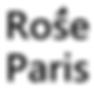 おしゃれ耳栓のハンドメイドショップ ロゼパリ | ロゴ