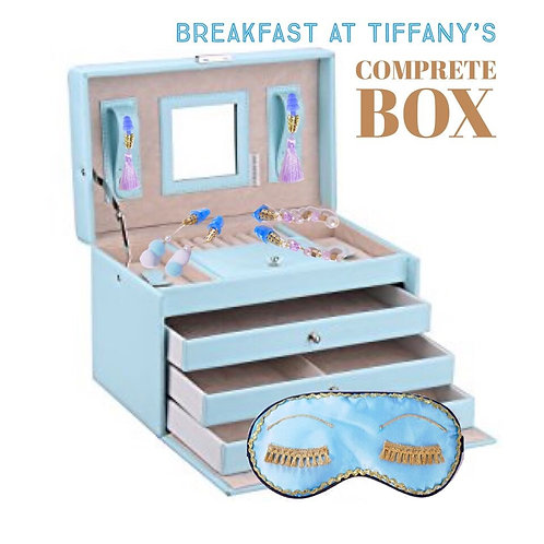 リクエスト受付中 ティファニーで朝食を コンプリートボックス 豪華10点セット アイマスクとおしゃれ耳栓