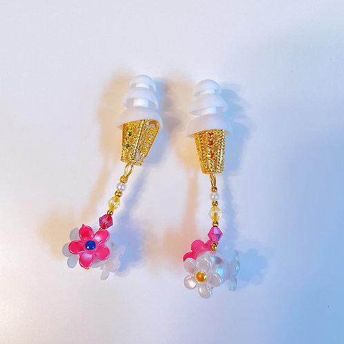 公式ストア限定 デイジーパール ピンクイエロー 可愛い 耳栓