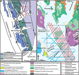 Geological controls on shallow gas distribution and seafloor seepage in an Arctic fjord of Spitsbergen, Norway