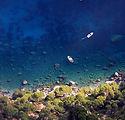 Küstenlinie von oben