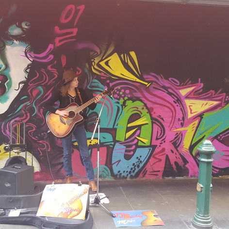 Busking in the CBD