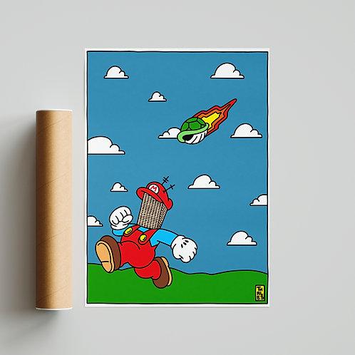 Mario Tower Down
