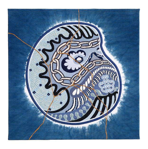 Daruma side UN JAPAN BLUE