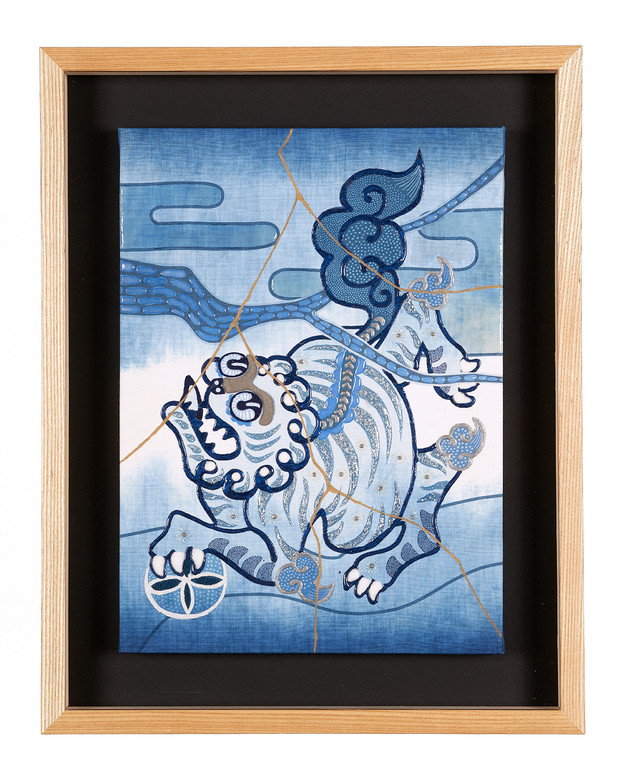 Komainu A blue JAPAN BLUE