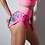 Thumbnail: Pink Floral & Black twerking shorts