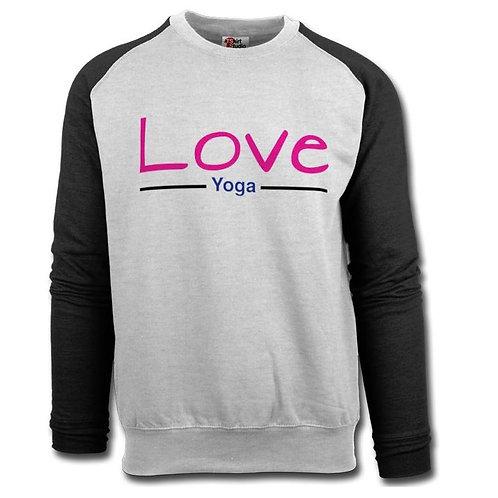 Love Yoga long sleeve jumper