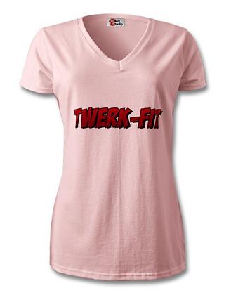 Twerk-Fit cotton shirt