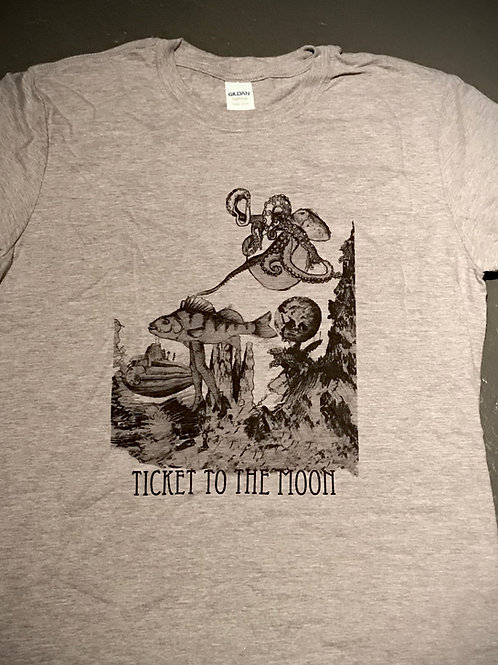 Ticket to the Moon T-shirt (L)