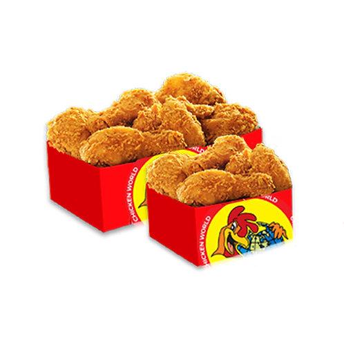 15Pcs Fried Chicken