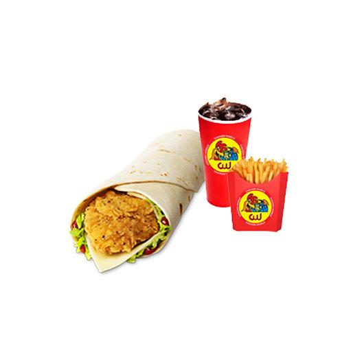 Basanti Chicken Wrap