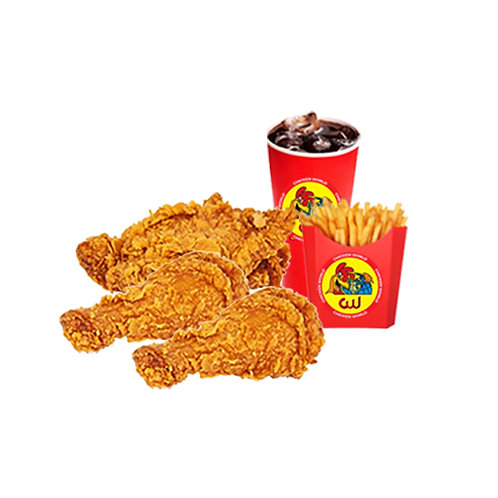 3Pcs Chicken Meal