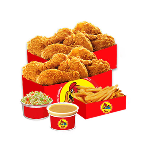 20Pcs Fried Chicken Family Bucket