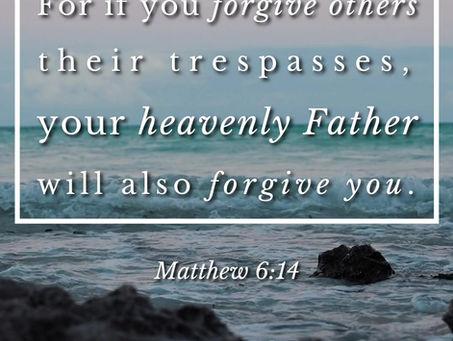 """Forgiveness"" - February 21st, 2021"