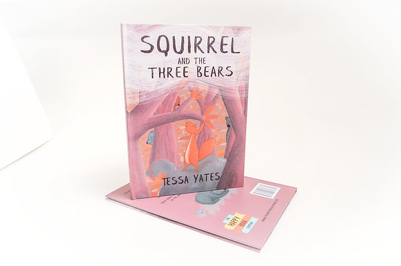 Squirrel and the Three Bears - Hardback book