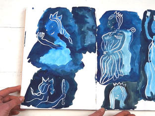 Queen of the Stars sketchbook 2
