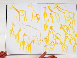 Geoffrey big sketchbook