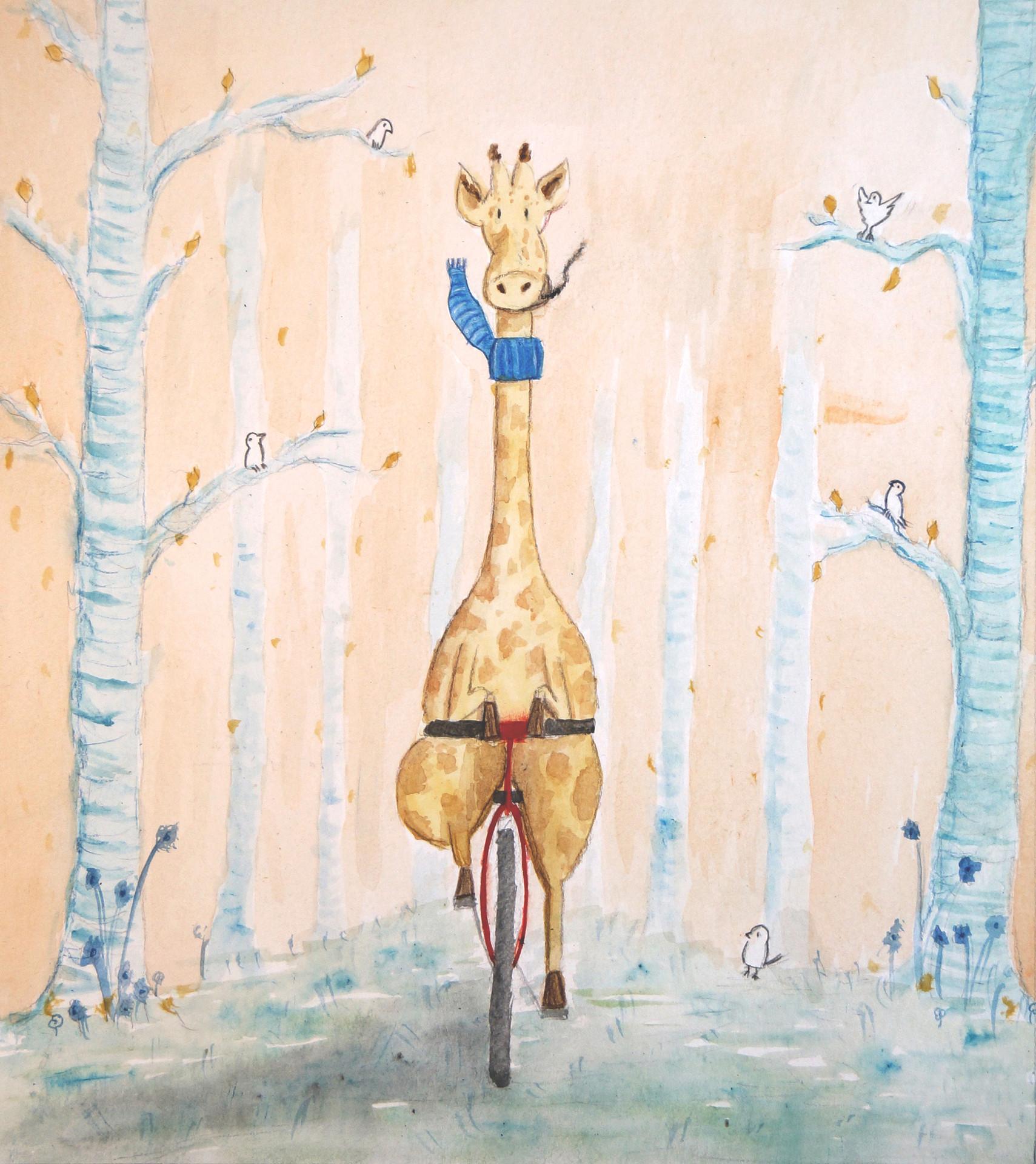 Geoffrey finds a Bike
