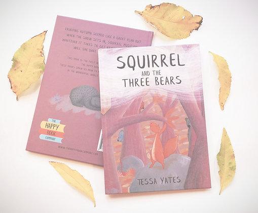 Squirrel and the Three Bears - Hardback book