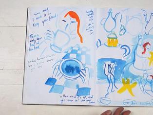 Queen of the Stars sketchbook 1