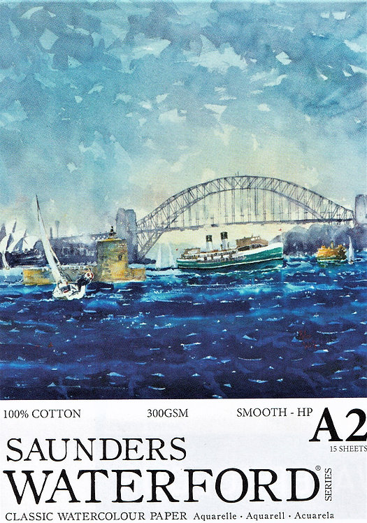 300gsm Saunders Waterford Watercolour Pads