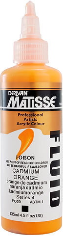 Matisse fluid formula for tinting - Smooth and slightly dense viscosity - Art Supplies Store