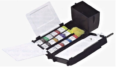 Winsor and Newton Field Box Set for outdoor painting - Art Supplies