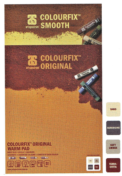 300 gsm Colourfix Pad - 12 pages