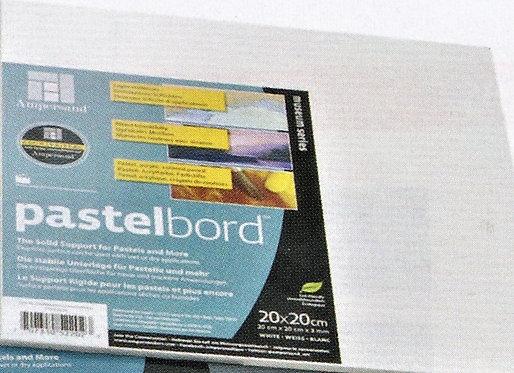 Ampersand White Pastel Board