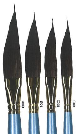 Squirrel Hair Dagger Brush - Art Materials