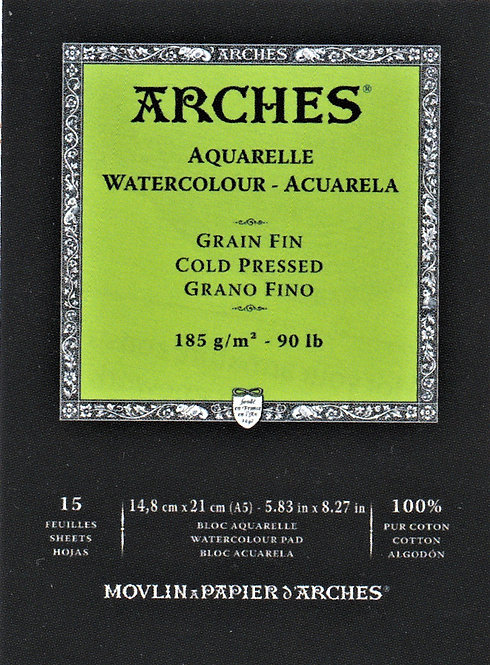 300 gsm Arches Watercolour Pads