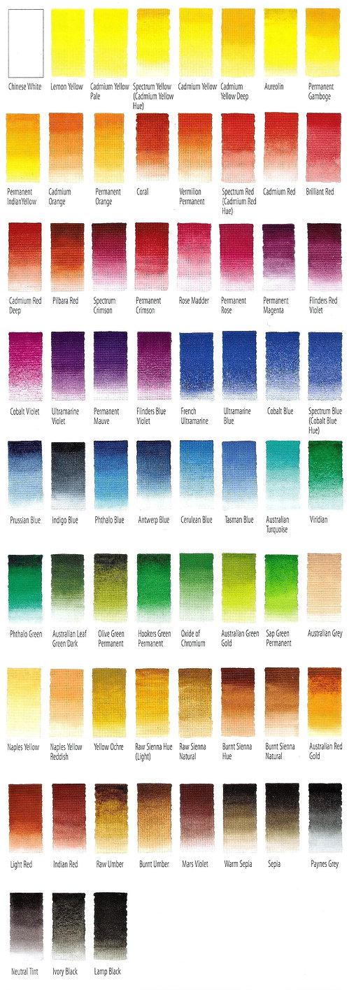 Art Spectrum Artist's Watercolour - Lightfast colours with very high pigment content - Art Supplies