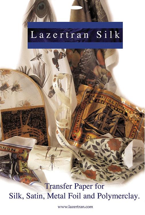 Lazertran Silk Transfer Paper for Laser Printers