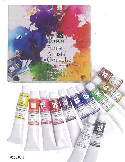 Art Spectrum Gouache Introductory Set - Quality Art Materials