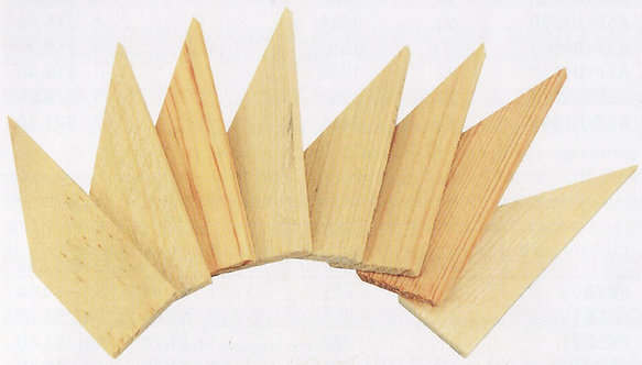 Heavy Duty Wedges, Pack of 8