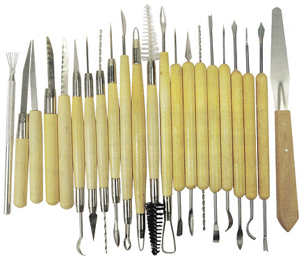 Modelling Tool Set of 22 Pieces