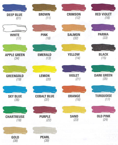 Pebeo Vitrail Colours for painting glass and metal - Art Studio Supplies