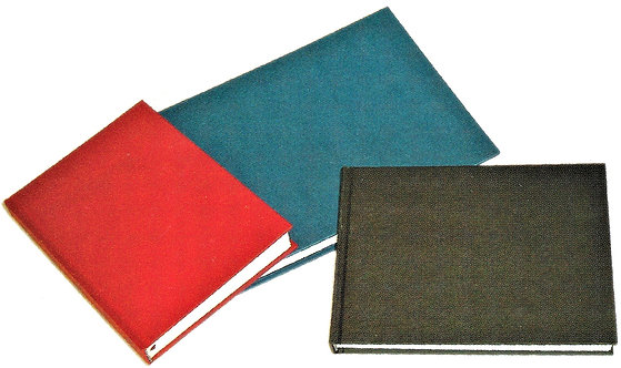140 gsm Hahnemuhle Square Hard Cover Diaries, 80 pages