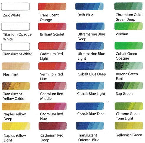 Schmincke Mussini Oils for increasing luminosity and depth of colours - Online Art Supplies