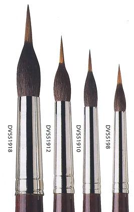 Kolinsky Liner Brushes - Online Art Supplies
