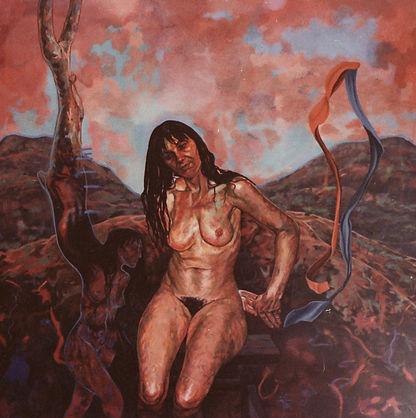 Portia Geach, portrait of Fiona O'bierne